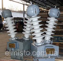 Трансформатори напруги НОМ 35 У1 однофазні масляні однообмоточные на напругу до 35 кВ
