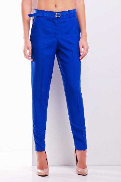 Зауженные женские брюки в деловом стиле (в расцветках)