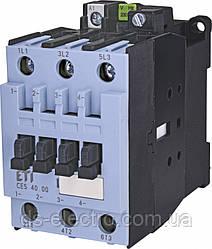 Контактор силовой CES, контакты 3Н.О.(основные), катушка 230 В, ETI,