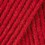 Пряжа для ручного вязания Yarnart Merino De Luxe 50 ( мерино де люкс 50) нитки зимняя пряжа 576 красный