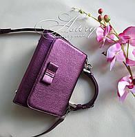 Кожаная сумка Laura
