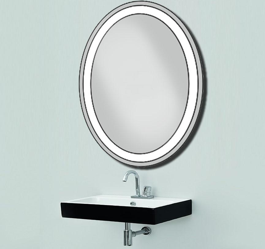 Дзеркало з LED підсвічуванням настінне 600х800мм d-57