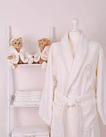 Женский махровый халат с полотенцами Volenka: халат + 2 полотенца