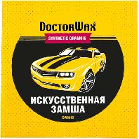 Замша для полировки машины Doctor Wax DW8615