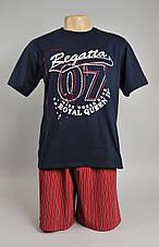 Мужская пижама  (футболка + шорты.), фото 3