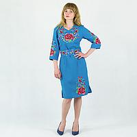 "Платье женское ""Анжелика"" голубое"