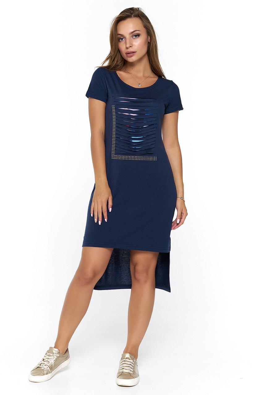 12c46930675 Прямое летнее платье Логронио № 3 - DS Moda - женская одежда оптом от  производителя в