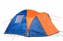 Трехместная двухслойная палатка Coleman 1011
