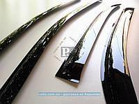 Дефлекторы окон TOYOTA Corolla Седан 2000-2006 (на скотче) ветровики Тойота Корола