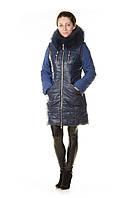 Зимняя женская куртка-трансформер Daser из био-кожи. S