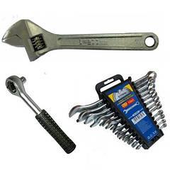 Ключи, трещотки