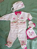 Комплект для новорожденной девочки от 0 до 3 месяцев
