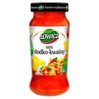 Соус кисло-сладкий (slodko kwasny) Lowicz Польша 350 г