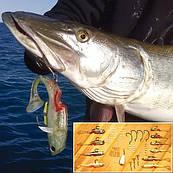 Набор  крючков для рыбалки Mighty Bite