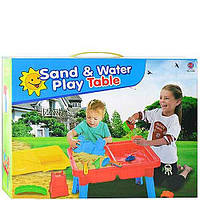 Столик Bambi для игры с песком и водой