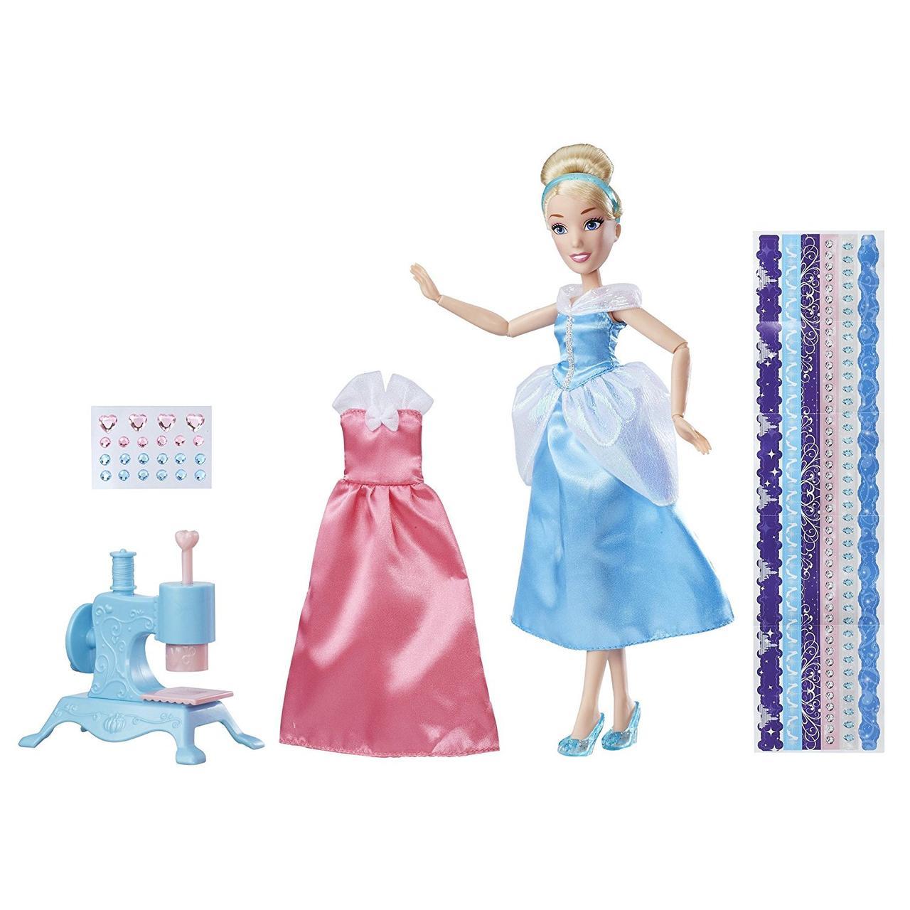 Игровой набор Золушка Студия Дизайна с аксессуарами Disney Princess Cinderella's Stamp 'n Design Studio
