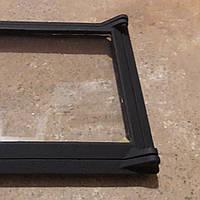 Дверца Украина  (кл) чугунная Новая со стеклом 320×290  / 260×280 мм