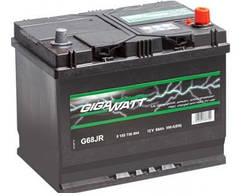 Аккумулятор Автомобильный Gigavat 68 Ah (Гигават) 68 Ампер GW 0185756804