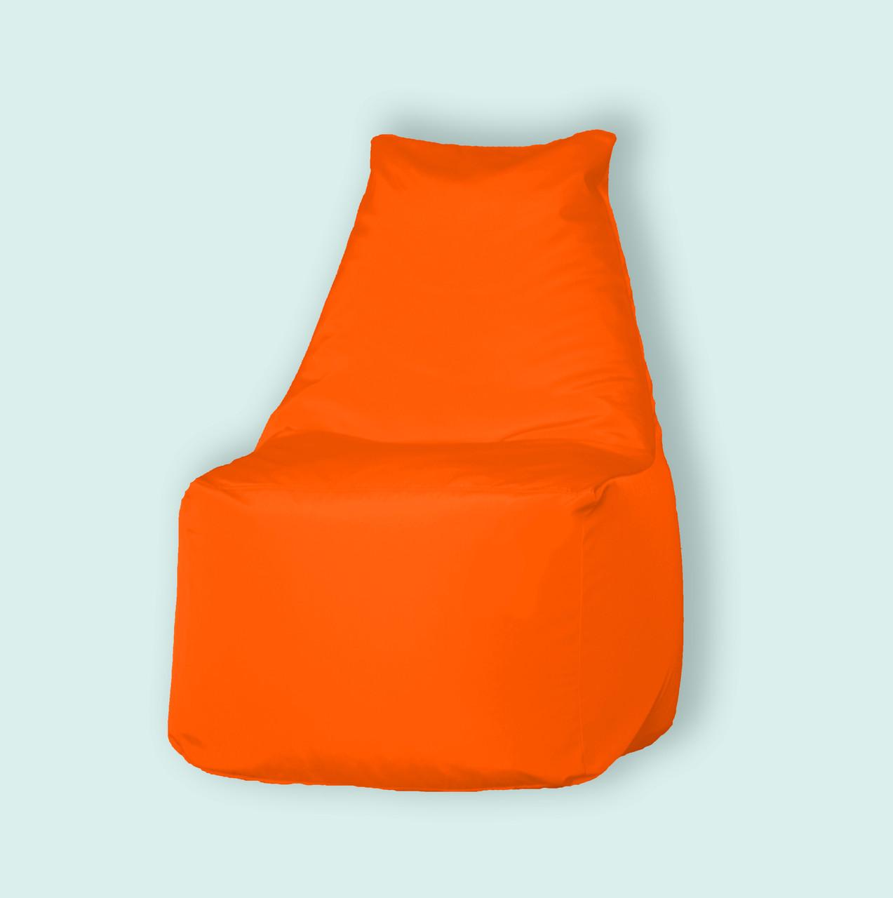 """Бескаркасное кресло мешок Prime оранжевое - интернет-магазин """"UFY""""  в Днепре"""