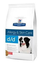 Hills PD Canine D/D Salmon&Rice Лечебный корм для собак Пищевая чувствительность Лосось, 2 кг