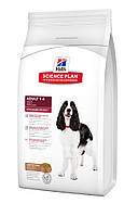 Сухой корм для собак средних пород Ягненок Рис Hills SP Canine Adult Advanced Fitness Lamb & Rice, 12 кг