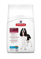 Сухой корм для собак средних пород Тунец Hills SP Canine Adult AdvFitness Tuna, 12 кг