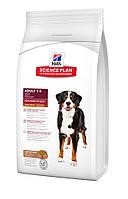 Сухой корм для собак крупных пород Ягненок (гипоаллергенный) Hills SP Canine Adult Advanced Fitness Large Breed Lamb & Rice, 12 кг