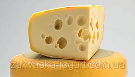 Сыр Маасдам (10-12 литров) закваска+Пропионик+фермент