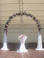 Оформление венчальной церемонии