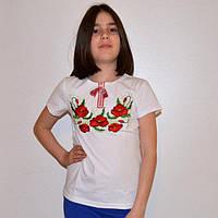 """Детская футболка для девочки """"Мак-2"""""""