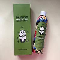 Пенка с бамбуковым углем seaNtree Bamboo Charcoal Fresh Cleansing Foam