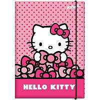 Папка для труда «Hello Kitty», картонная на резинке, ТМ Kite