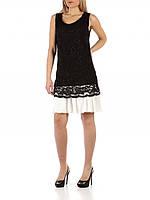 Черное платье-кружево FRACOMINA Италия