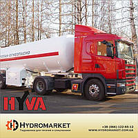 Гідравлічна система  Hyva на бензовоз з пластиковим баком, фото 1