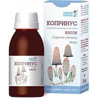Копринус гриб капли, экстракт гриба Копринус Грибная Аптечка 100 мл