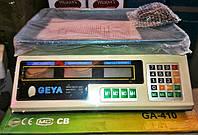 Весы торговые электронные GEYA 40 кг (аккумулятор + 2 табло)