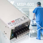 MSP-600 – серия мощных источников питания для медицинских устройств