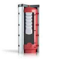 Теплобак ВТА/Н-2 (400 л), внутрішній бойлер 80 л, поліестерова ізоляція