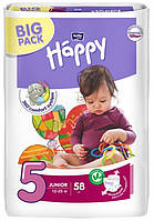 Подгузники Bella Happy 5 Junior (12-25 кг) 58 шт BIG PACK