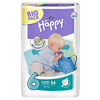 Подгузники Bella Happy 6 Junior Extra (16+кг) 54шт BIG PACK
