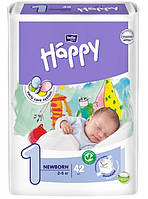 Подгузники Bella Happy 1 Newborn (2-5кг) 42шт.