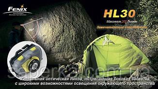 Купить Налобный Фонарь Fenix HL30 Cree XP-G R5 серо-зеленый, фото 2