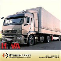 Гидравлика  Hyva на  КамАЗ 5460 с пластиковым баком