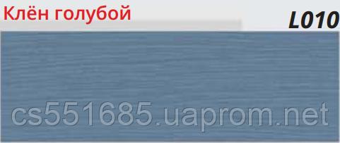 L010 Клён голубой- плинтус напольный с кабель-каналом Line Plast  58 мм