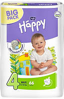 Подгузники Bella Happy 4 Maxi (8-18кг) 66шт BIG PACK