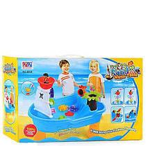 Столик Bambi для игры с песком и водой Корабль