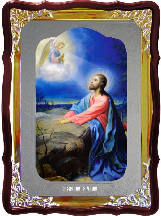 Икона Иисуса для храма Моление о чаше