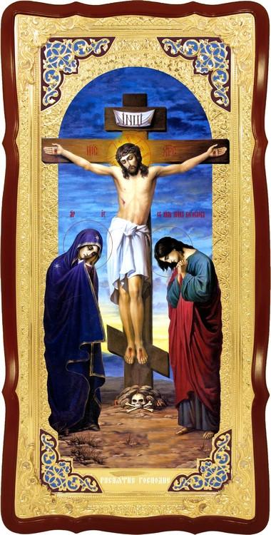 Православні ікони в крамниці - Розп'яття Господнє