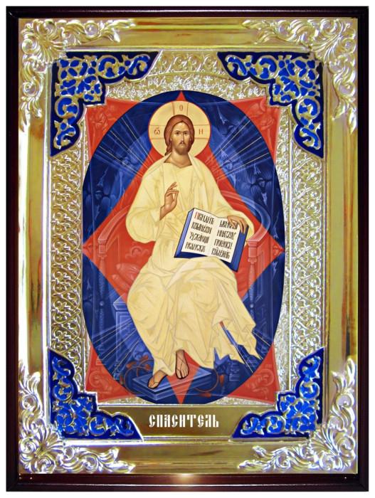 """Старовинна ікона Ісуса Христа """"Спас у силах"""""""