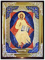Старинная икона Иисуса Христа - Спас в силах